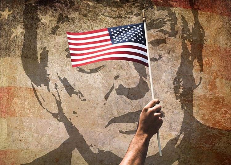 dowcipy o Amerykanach humor kawały USA żarty Ameryka funny Stany Zjednoczone flaga amerykańska Donald Trump