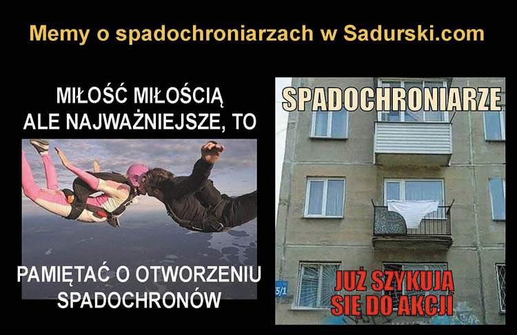 dowcipy o spadochroniarzach humor spadochroniarze kawały spadochrony