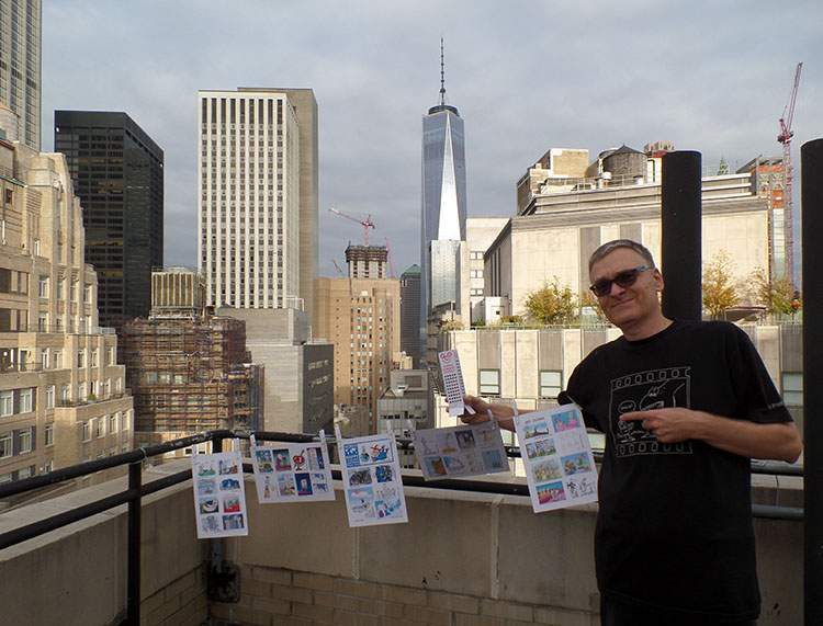 New York City USA Nowy Jork World Happy Skyscraper Cartoons Tour