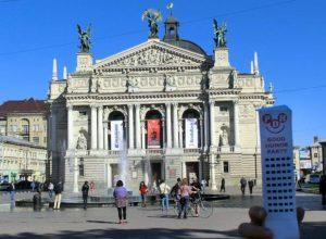 Lwów Ukraina podróże opera