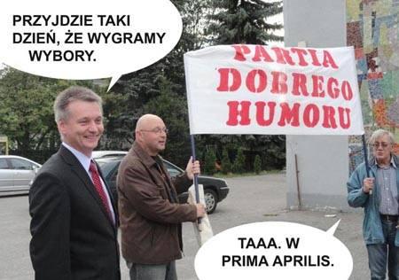 Myszków Jurajski Plener Karykaturzystów Partia Dobrego Humoru