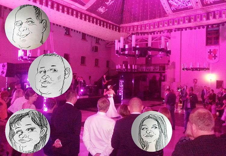 karykaturzysta na wesele cennik poradnik karykatury