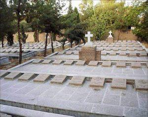 Teheran Iran cmentarz polski
