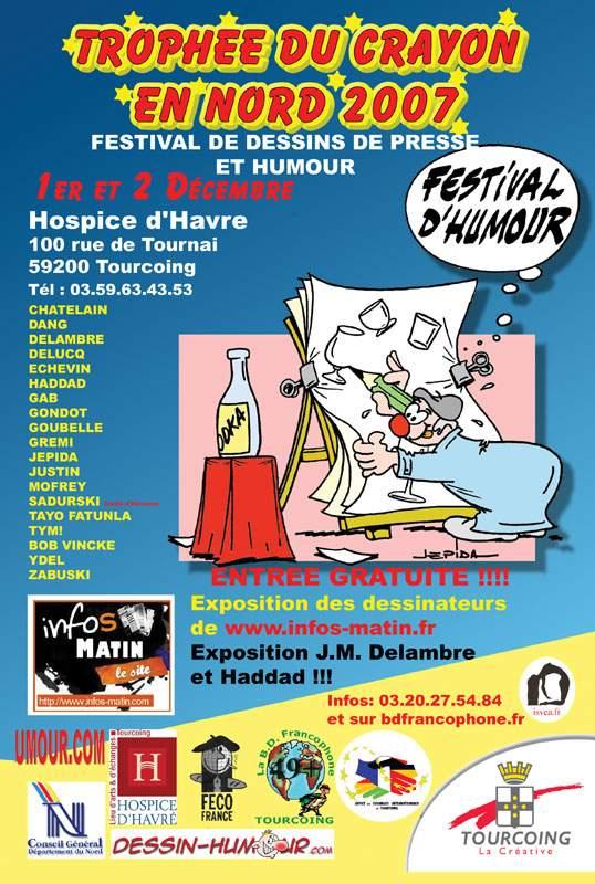 Tourcoing Francja wystawa karykatury Sadurski festiwal