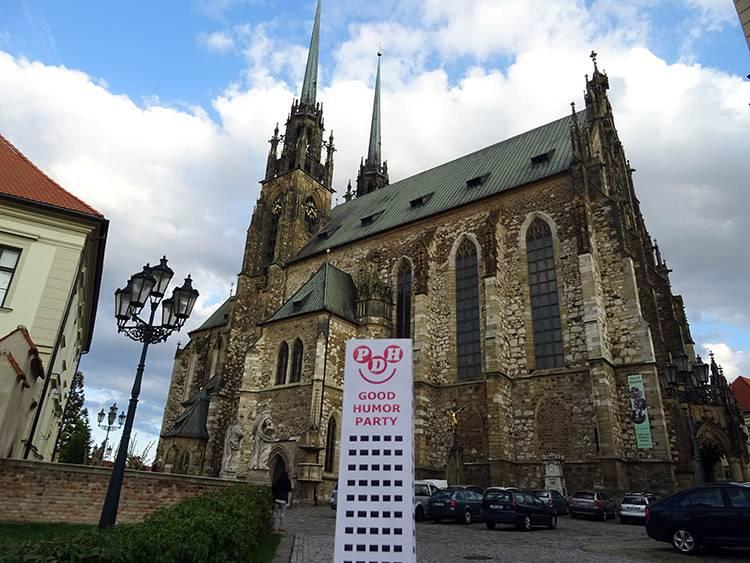 Brno Słowacja katedra Piotra i Pawła