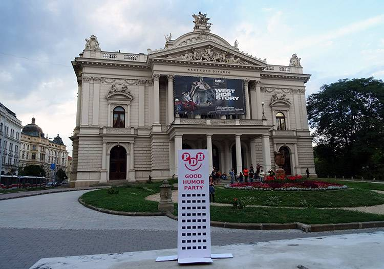 Brno Słowacja Teatr Narodowy Divadlo