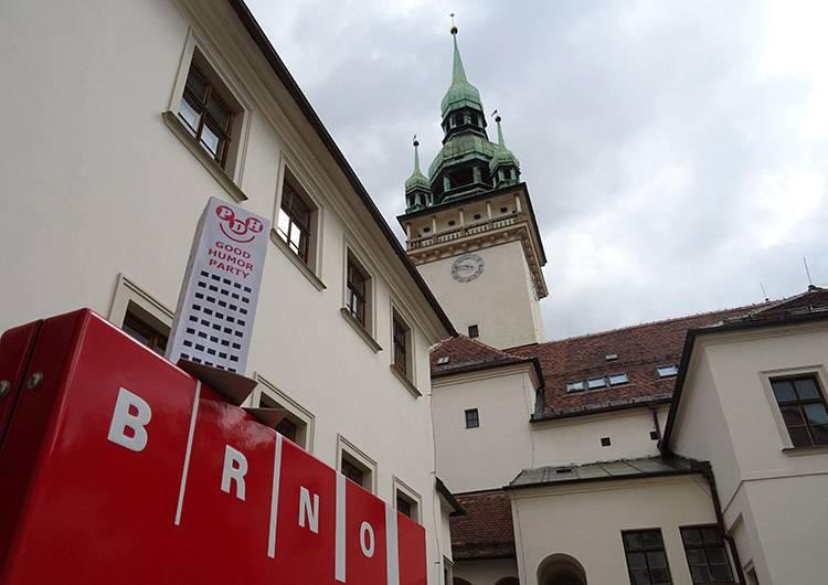 Brno Słowacja Stary Ratusz