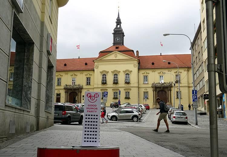 Brno Słowacja Ratusz