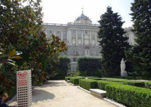 Madryt Hiszpania Palacio Real pałac królewski