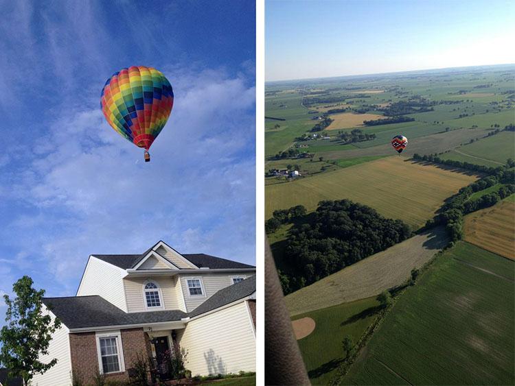 Marysville Ohio USA All Ohio Baloon Fest