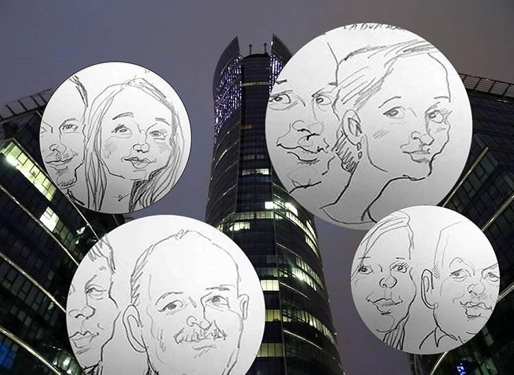 karykatury karykaturzysta śmiechoterapia