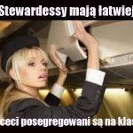 stewardessy humor kawały dowcipy o stewardessach stewardessa piloci samoloty linie lotnicze