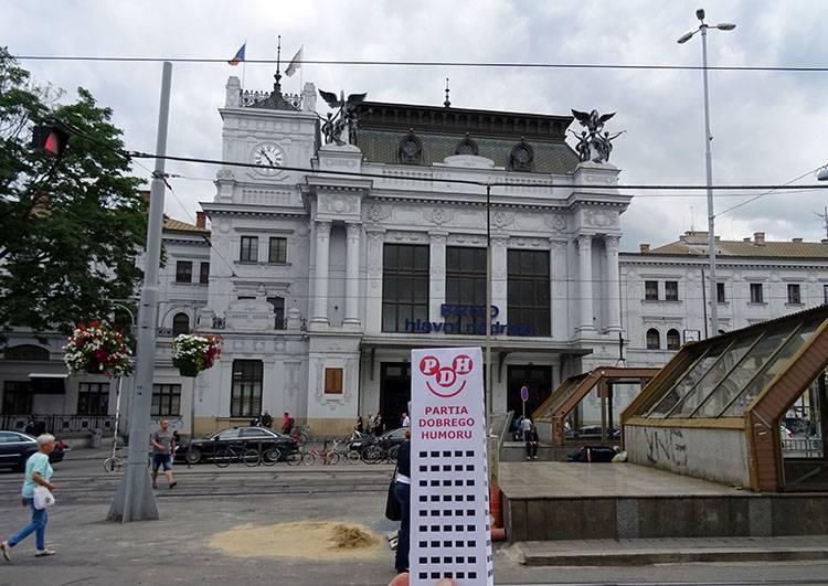 Brno Czechy dworzec kolejowy