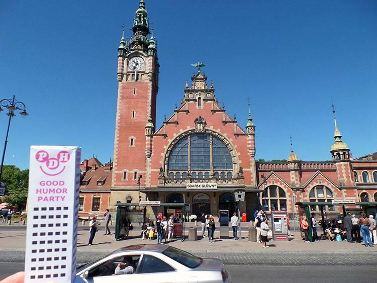 Gdańsk Główny Polska dworzec kolejowy