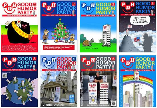 Good Humor Party e-magazine