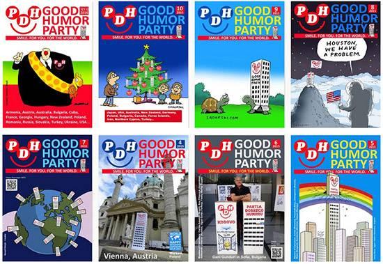 Good Humor Party e-magazine
