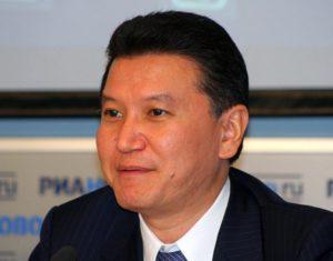 Kirsan Ilyumzhinov Kałmucja prezydent