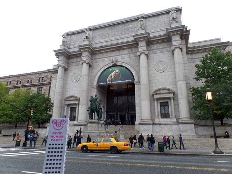 Muzeum Historii Naturalnej Nowy Jork Manhattan