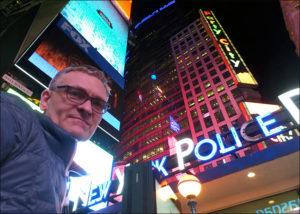 Nowy Jork, Szczepan Sadurski, Times Square