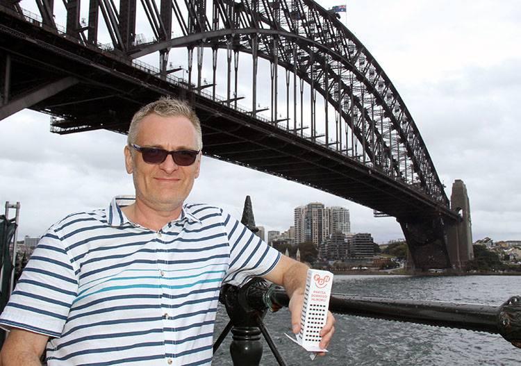Sydney Australia Szczepan Sadurski Wesoły Wieżowiec