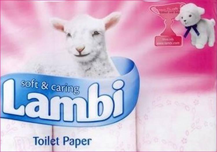 baranek Lambi papier toaletowy owca