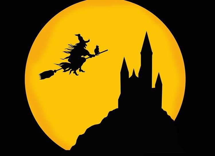 czarownica miotła