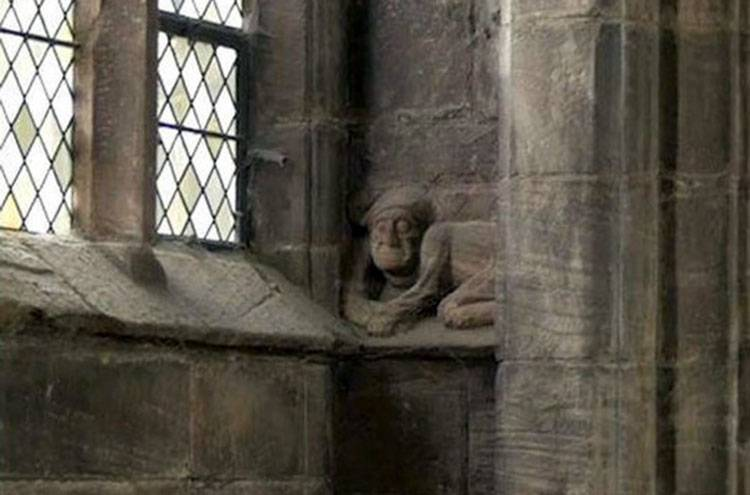 diabeł katedra Chester Anglia