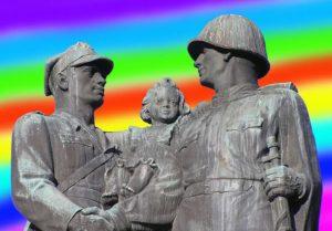 geje Legnica pomnik