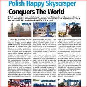 happy skyscraper happy tower wesoły wieżowiec