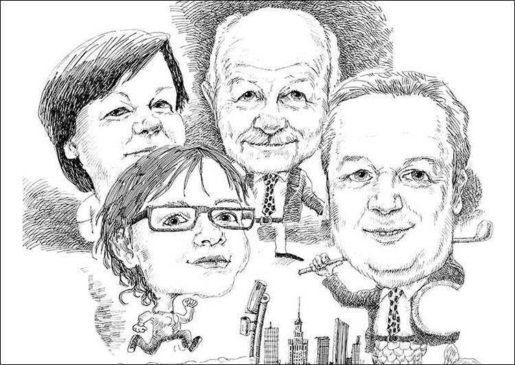karykatura ze zdjęcia karykatury karykaturzysta