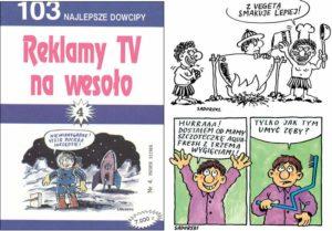 reklamy TV na wesoło Sadurski Superpress