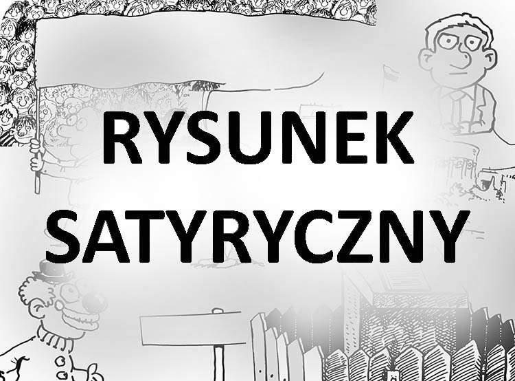rysunek satyryczny karykatura Złota Szpilka