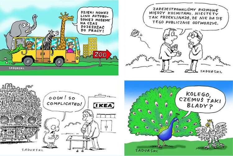 rysunki satyryczne wystawa rysunku satyrycznego