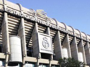 stadion Santiago Benabeu Real Madryt