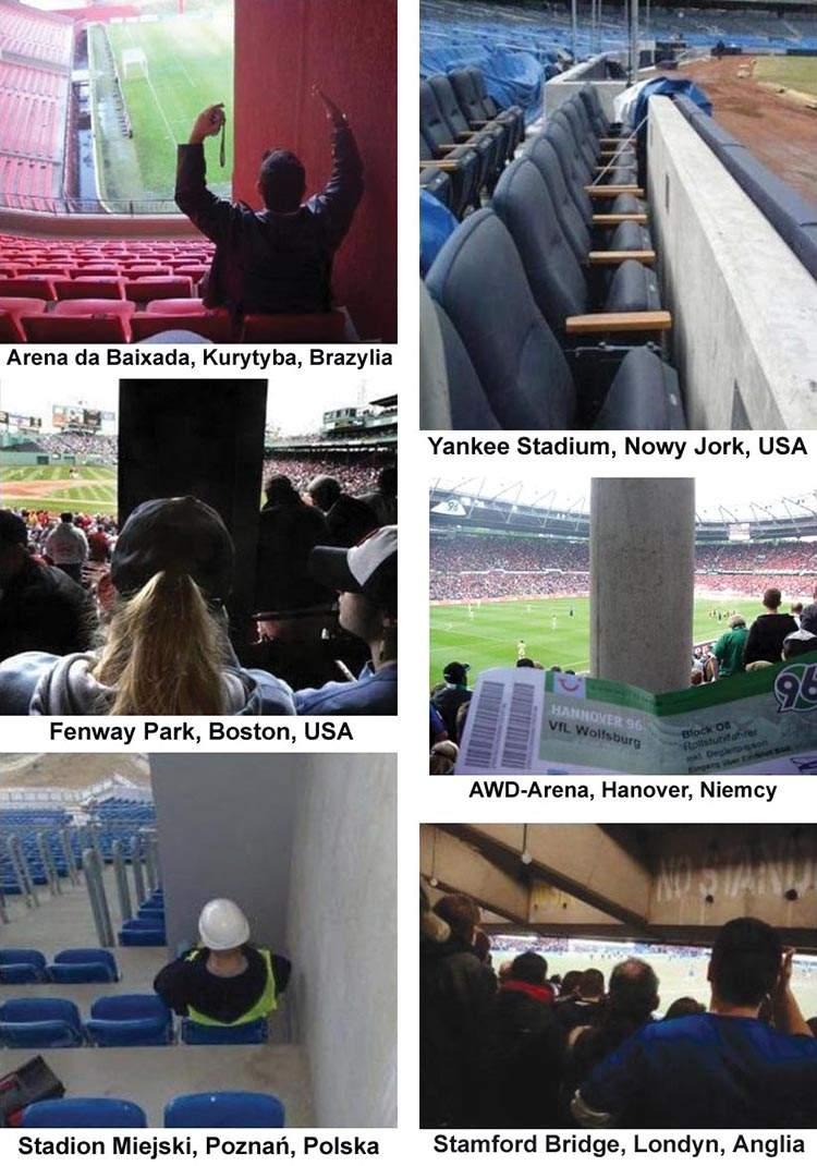 stadiony trybun miejsca kibice piłka nożna