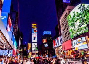 Times Square Nowy Jork USA Manhattan