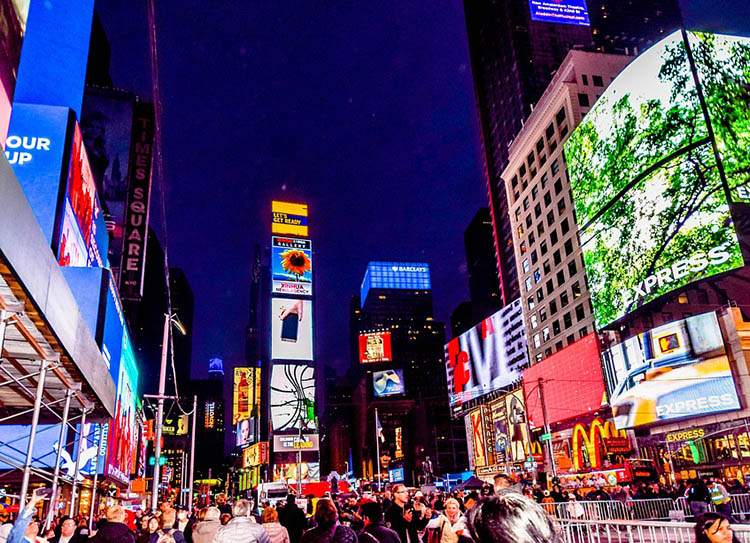 Times Square Nowy Jork USA Manhattan