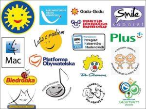 uśmiech logo biznes śmiech dobry humor
