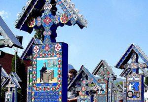 wesoły cmentarz Sapanta Rumunia