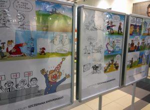 wystawa rysunku satyrycznego rysunek satyryczny