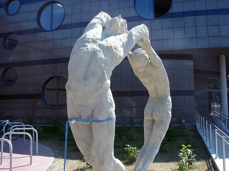 Zielona Góra pomnik penis