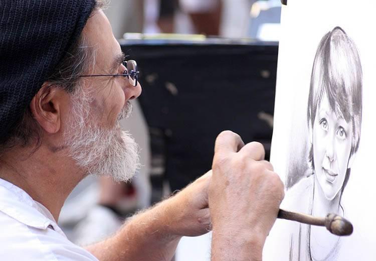 karykaturzyści uliczni karykatury rysowanie karykatur