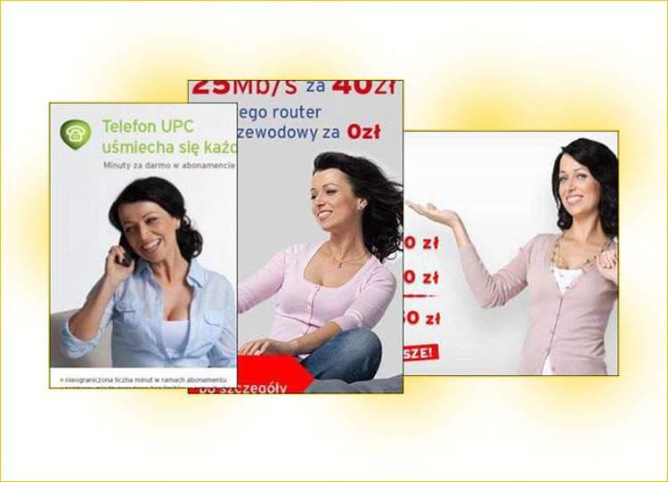 Katarzyna Pakosińska UPC reklama