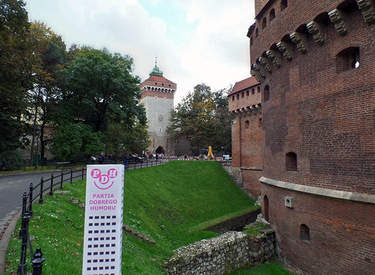 Kraków, kabarety, satyra, satyrycy, Wesoły Wieżowiec