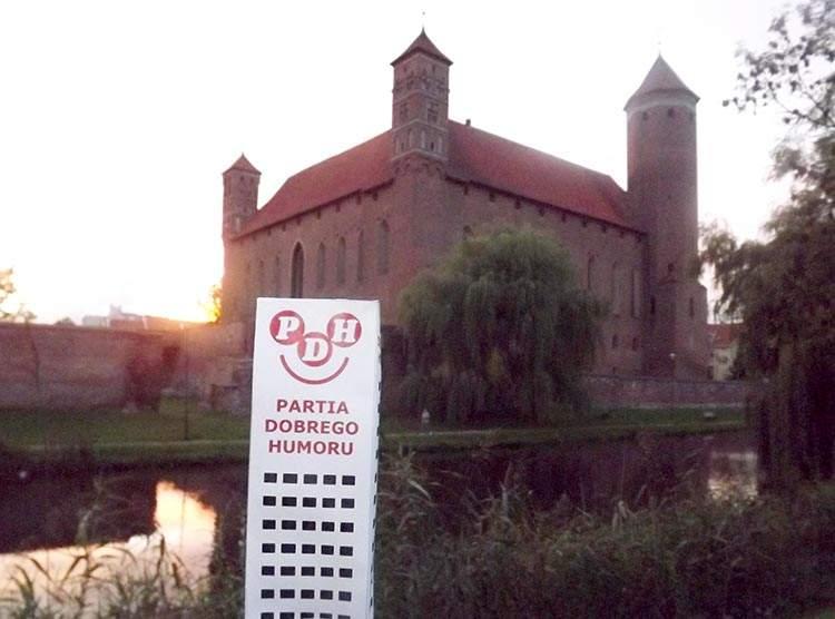 Lidzbark Warmiński zamek Wesoły Wieżowiec