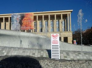 Łódź Wesoły Wieżowiec teatr