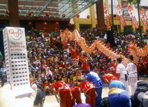 Malang Java Indonezja Chiński Nowy Rok
