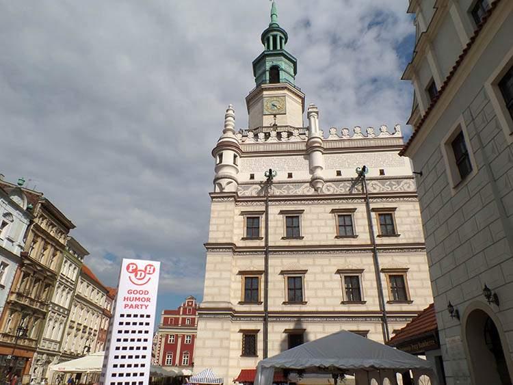 Poznań Wesoły Wieżowiec