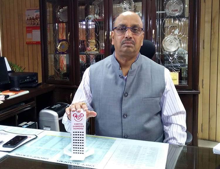 Rajesh Pratap Singh CRPF Academy Happy Skyscraper