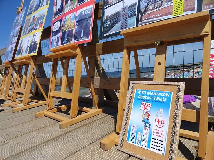 Ustronie Morskie Wesoły Wieżowiec wystawa
